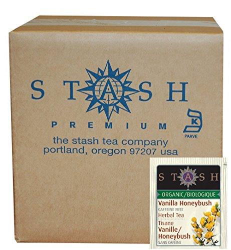 Stash Tea Organic Honeybush packaging
