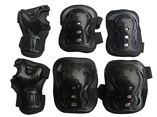 Children / Kids Protective Gear Sports Safety Pad Safe guard Inline Roller Skating Biking Knee Elbow Wrist Support Pad for bicycling and roller skating