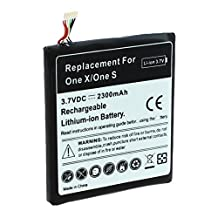 YN4L 2300mAh Replacement Battery for HTC One X ; One S ; S720e ; BJ83100 ; 35H00187-01M