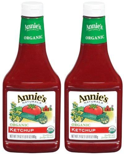 Annie's Homegrown Organic Ketchup - 24 oz - 2 pk