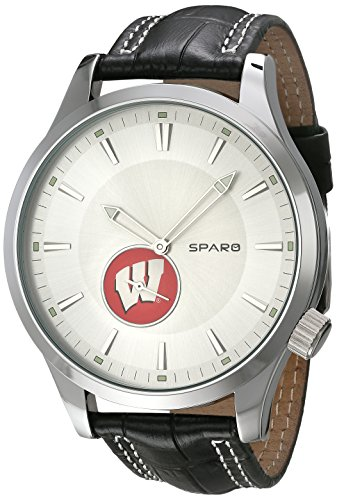 (NCAA Wisconsin Badgers Icon Watch, Black)