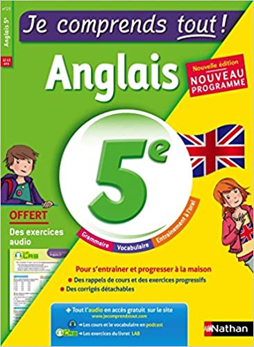 Amazon Fr Anglais 5eme Cours Exercices Audio Je