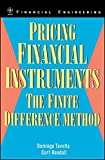 img - for Pricing Financial Instruments: The Finite Difference Method by Domingo Tavella (2000-04-21) book / textbook / text book