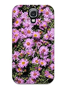 New Snap-on Andi Silverman Skin Case Cover Compatible With Galaxy S4- Fall Flowers