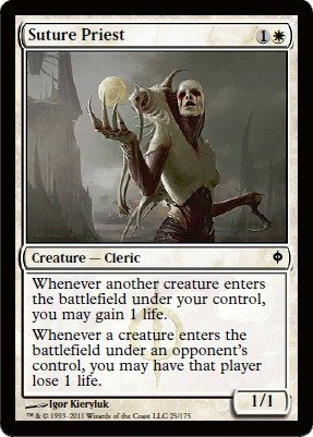 Magic: the Gathering - Suture Priest - New Phyrexia from Magic: the Gathering
