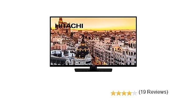 Hitachi 40He4001 Led TV Full HD Smart TV WiFi, 101.6 Cm, Negro: Hitachi: Amazon.es: Electrónica
