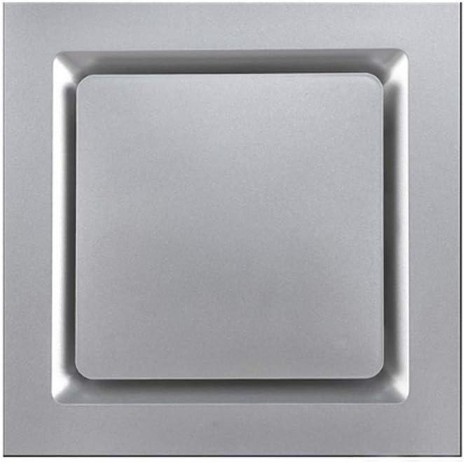 LXZDZ Ventilador de ventilación, suspendido del techo Ventilador de techo de la sala de estar, cocina y oficina silencioso soplador de ventilación