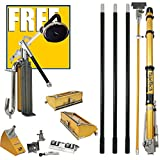 TapeTech Full 10/12 Drywall Taping & Finishing Set (With Free Power Sander)