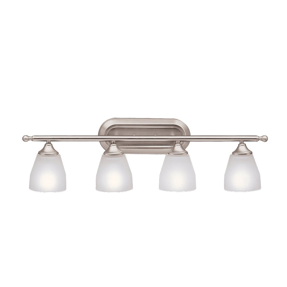 Kichler 5449ni ansonia bath 4 light brushed nickel vanity kichler 5449ni ansonia bath 4 light brushed nickel vanity lighting fixtures amazon aloadofball Choice Image