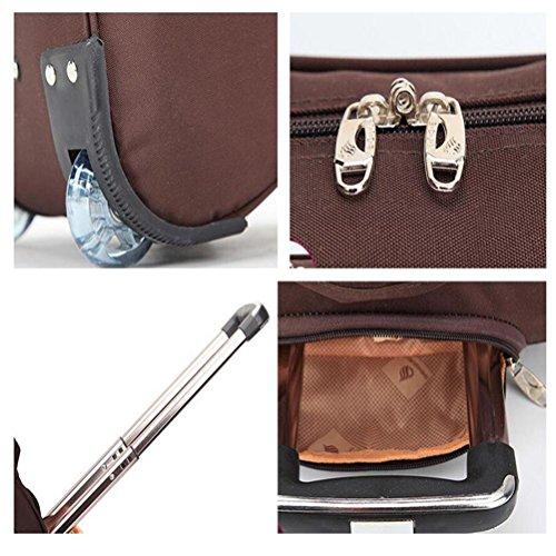 falten Gepäck Trolley-Tasche Fliegen genehmigt Leichtes Tragen Handtasche Hohe Kapazität Reise Trolley-Tasche wasserdicht Handtasche 004