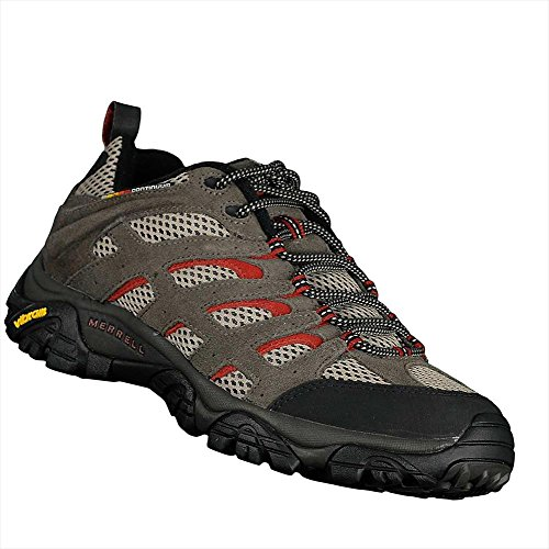 Merrell Men's Moab Ventilator Multisport Shoe (7.5 D(M) US, Grey Rust) (Utility Ventilator)