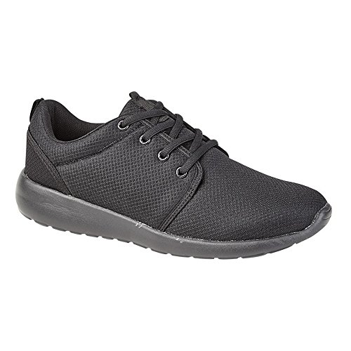 Dek Mens / Womens Asteroid Superlight Lace Trainer Nero