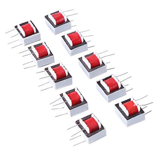 UPC 736691481995, EI14 Isolation Transformer,10 pcs/pack 600:600 Ohm 1:1 EI14 Isolation Transformer Audio Transformers