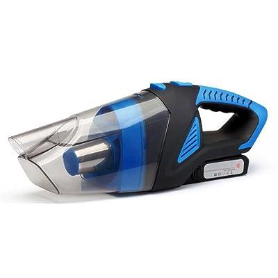 Aspirateur à Main NEW11 Portable Sans Fil Vacuum Cleaner Cyclonique Charge Rapide Batterie Lithium Filtres Lavables Humide Sec pour Maison Voiture Poils d'Animaux de Compagnie, Bleu