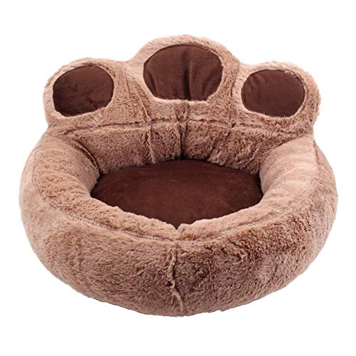 Molly Dog Bed Small Cuddle Cup - Cozy, Comfortable Cat and Dog House Bed - High-Walls for Improved Sleep,A3,M ()