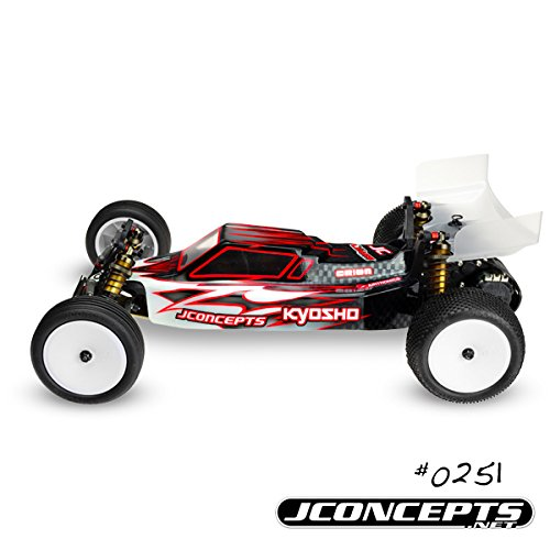 JConcepts 0251 Illuzion Kyosho RB6 Finnisher Clear Body (Jconcepts Illuzion Body)