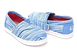 Toms Classics Blue Space Dye 10007412 Tiny 5