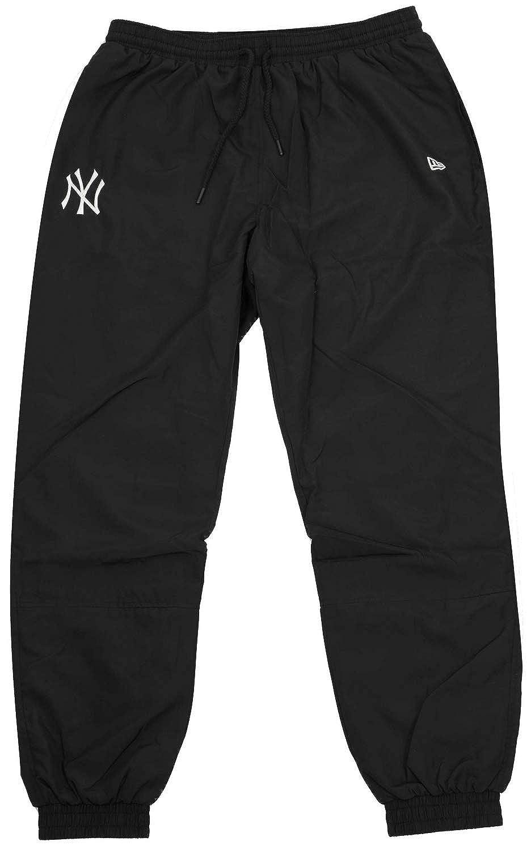 New Era Era Era da Uomo York Yankees Team Pantaloni da Ginnastica in Navy Tasche a Costine Sides W