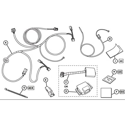 jeep renegade wiring harness diagram best secret wiring diagram • amazon com 2015 2016 jeep renegade mopar trailer tow wiring harness rh amazon com 97 jeep wrangler wiring diagram jeep wrangler wiring diagram