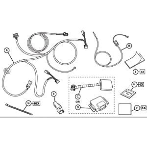 51J8lS7mmsL._SY300_ amazon com 2015 2016 jeep renegade mopar trailer tow wiring mopar trailer wiring harness at virtualis.co