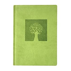 Eccolo World Traveler Essential Collection 5 x 7 Inches Lined Journal, Tree of Life