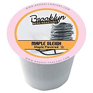 Brooklyn Beans Maple Sleigh Single-Cup coffee for Keurig K-Cup Brewers, 40 Count