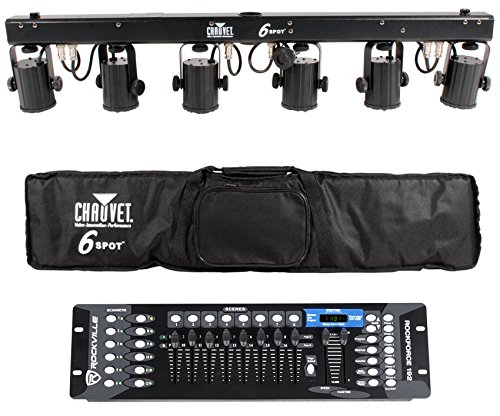 Chauvet 6Spot Led Color Changer Lighting System