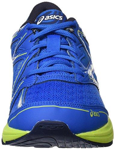 Asics Unisex-Kinder Noosa GS Gymnastikschuhe Blau (Electric Blue/energy Green/peacoat)