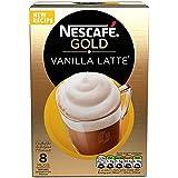 Nescaf? Caf? Menu Vanilla Latte 18.5 g (Pack of 6, Total 48 Units)