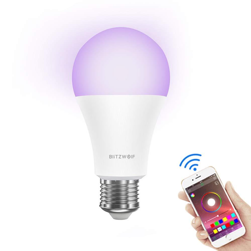 WiFi Lampadina Smart LED, BlitzWolf 6500K