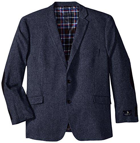 U.S. Polo Assn. Men's Big-Tall Wool Donegal Sport Coat, B...