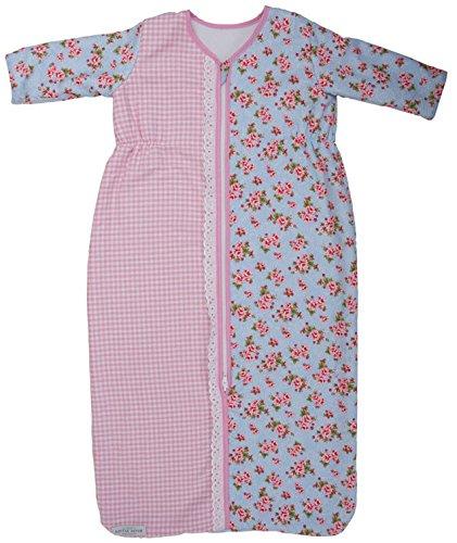 Little Dutch rosas Saco de dormir para el Invierno azul Talla:80 cm Länge: Amazon.es: Bebé