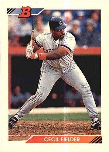 Cecil Fielder Tigers - 1992 Bowman #90 Cecil Fielder TIGERS R15910