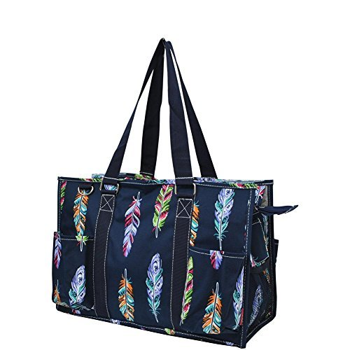 N Gil All Purpose Organizer Medium Utility Tote Bag 2 (Feather Navy -