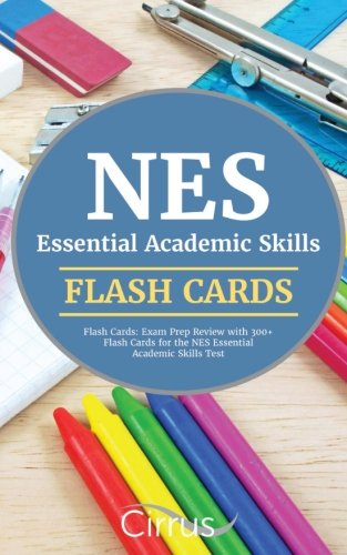 NES Essential Academic Skills Flash Cards: Exam Prep Review with 300+ Flash Cards for the NES Essential Academic Skills Test