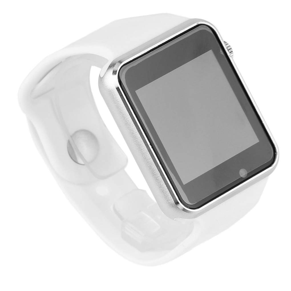 KOROWA Bluetooth Smart Watch for Android Message Phone Call Mobile Phone Step Counting Sport Intelligent Wrist Watchwhite