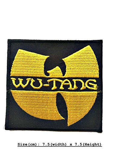 (Wu Tang DIY Metal Punk Rock Music Band Indy Retro Embroidered Iron Sew On Patch Applique)