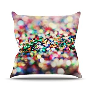 """Kess InHouse Beth Engel """"Celebrate"""" Outdoor Throw Pillow, 26 by 26-Inch"""