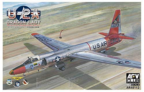 AFV Club 1/48 US Air Force U-2A high-Altitude Reconnaissance Aircraft Dragon Lady Plastic Model AR48112