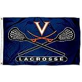 UVA Cavaliers Large Lacrosse 3x5 College Flag