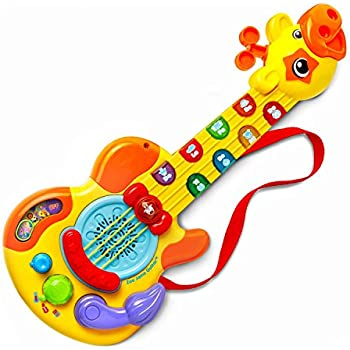 Amazon.com: LeapFrog Touch Magic Rockin' Guitar: Toys & Games