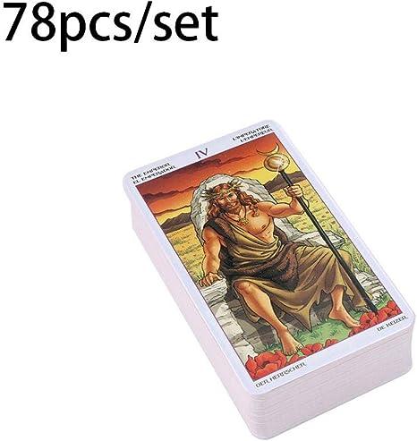 Juego de mesa, Lectura de la rueda del año de 78 cartas, Carta del Tarot del Destino para uso personal: Amazon.es: Bebé