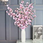 Shiny-Flower-4PCS-Artificial-Cherry-Blossom-Flowers-Silk-Peach-Flowers-Arrangements-Tall-Artificial-Plant-429-in-Tall-for-Wedding-Office-Party-Hotel-Yard-Home-Decoration