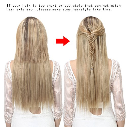 Sarla halo synthetic hairpieces flip in women hair extensions sarla halo synthetic hairpieces flip in women hair extensions natural wave hidden halo hair extensions m01 pmusecretfo Image collections