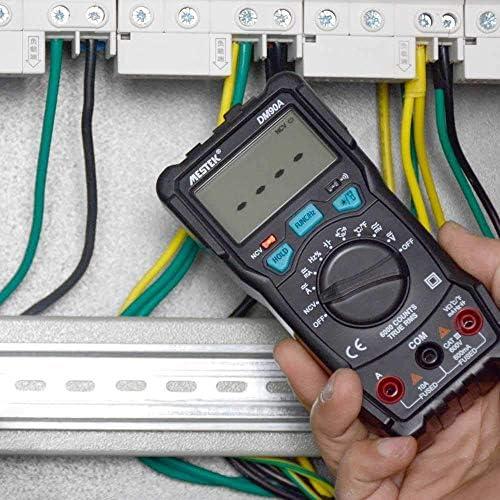 LIZANAN Digital Precise instrument Multimeter DM90S Intelligent Automatic Smart Multimetro Voltage Resistance Diode Mini Portable Multimeter Tool Multimeter