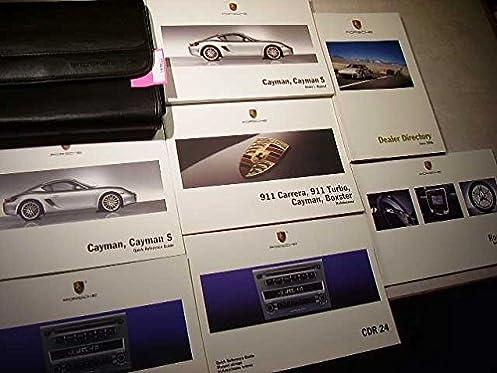 2007 porsche cayman owners manual porsche amazon com books rh amazon com 2009 Porsche Cayman S 2008 Porsche Cayman S