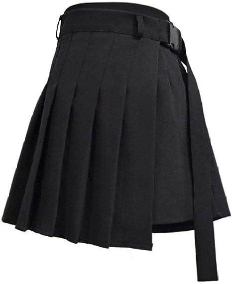 HAHAQZ Falda,Pantalones De Cintura Negra Falda Niña Duro Japón ...