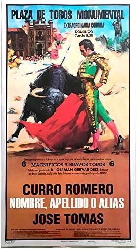 Cartel de toros con un nombre personalizable - J. Tomás/El Juli: Amazon.es: Juguetes y juegos