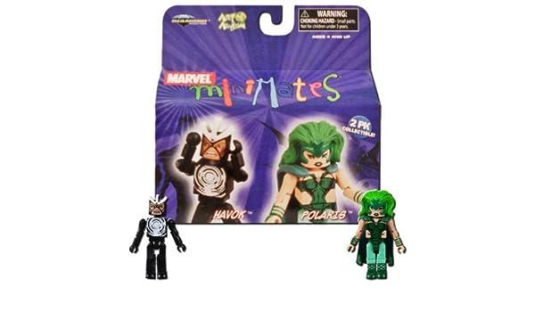 Marvel Minimates Series 20 Havok /& Polaris