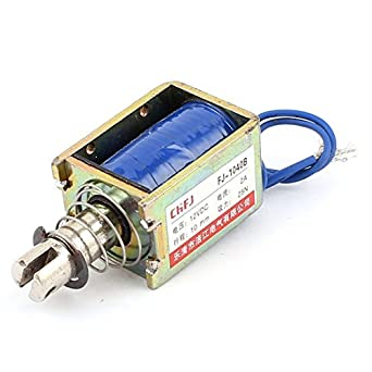 eDealMax Push Pull Tipo de bricolaje DC electroimán imán solenoide, 10 mm 25N DC 12V 2A: Amazon.com: Industrial & Scientific